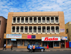 Blantyre, Malawi: Aquarius House - shops and offices - Bata sign - Haile Selassie Avenue - photo by M.Torres