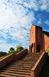 Blantyre, Malawi: red brick church, Kaohsiung rd - photo by M.Torres