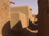 Mali - Bozo town: narrow alley - mud architecture - photo by A.Slobodianik