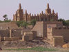 Mopti / MZI: the mosque (photo by Alejandro Slobodianik)