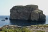 Malta - Gozo: Dwejra bay -  - il-Gebla tal-General / the General's Rock, the Fungus rock (photo by  A.Ferrari )