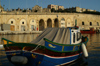 Malta: Vittoriosa - boat (photo by A.Ferrari)