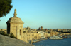 Malta: Vittoriosa - western waterfront from Fort St Angelo (photo by A.Ferrari)