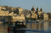 Malta: Vittoriosa - harbour scene (photo by A.Ferrari)
