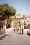 Malta: Mdina - town gate (photo by M.Torres)