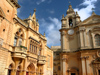 Malta: Malta: Mdina - Norman House and the Cathedral (photo by ve*)