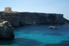 Malta - Comino: St. Mary's Tower and the southwestern coast (photo by A.Ferrari)