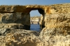 Malta - Gozo / Ghawdex: Azure window natural bridge - western coast (photo by  A.Ferrari )