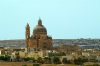 Gozo / Ghawdex: Xewkija - the village and the church (photo by  A.Ferrari )