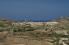 Gozo / Ghawdex: Zebbug and Salvatur Hill from Victoria (photo by  A.Ferrari )