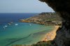 Malta - Gozo: Ramla bay - seen from Calypso's cave (photo by  A.Ferrari )