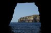 Malta - Gozo: Dwejra bay - from the cave (photo by  A.Ferrari )