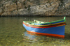 Malta - Gozo: Dwejra bay - the Inland Sea - Maltese / Gozitan boat (photo by  A.Ferrari )