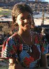 Mauritius: smiling girl(photo by A.Dnieprowsky)
