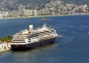 Mexico - Acapulco de Juarez / ACA (Guerrero state): cruise ship - Volendam (photo by Andrew Walkinshaw)