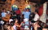 Mexico - Cancún (Quintana Roo): restaurante /  restaurant scene - band playing (photo by Angel Hernández)