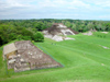 Mexico - Comalcalco: Mayan ruins from above (photo by A.Caudron)