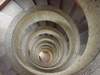 Mexico - Tabasco: laguna de las ilusions tower - inside stairs - spiral stairs (photo by A.Caudron)
