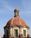20  Mexico - Jalisco state - guadalajara - templo de santa maria de gracia - dome - first cathedral - photo by G.Frysinger
