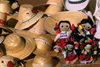 Xochimilco, DF: hats and dolls - native handicraft - photo by Y.Baby