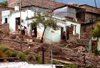 Guanajuato City: shanty town on the Caada de Marfil, the ivory ravine - favela - photo by Y.Baby
