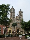 Mexico - Valladolid (Yucat�n): Catedral de San Gervasio / the Cathedral of San Gervasio (photo by Angel Hern�ndez)