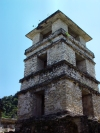 Mexico - Chiapas - Palenque: Maya palace - tower - Unesco world heritage site  (photo by A.Caudron)
