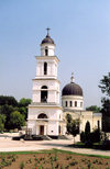 Chisinau / Kishinev / KIV: Orthodox Cathedral of the Nativity - the campanile / steeple - Cathedral Park - Catedrala - principala biserica a orasului - photo by M.Torres