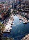 Monaco - Fontvieille: over the marina - au-dessus le port - photo by M.Torres