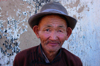 Gobi desert, southern Mongolia: Mandalgobi, Dundgovi Province - old friendly man - photo by A.Ferrari