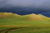 Khorgo-Terkhiin Tsagaan Nuur NP, Arkhangai Province, Mongolia: hills in the evening light - photo by A.Ferrari