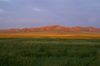 Khustain Nuruu National Park, Tov province, Mongolia: grasslands in the evening light - photo by A.Ferrari
