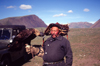 Mongolia - Altai - Bayan Olgii province: Kazak hunter with his eagle - photo by A.Summers