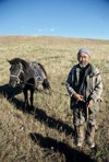 Mongolia - local horseman - photo by A.Summers