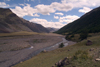 Mongolia - Yamatii valley: river bed - photo by A.Summers