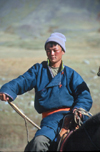 Mongolia - Uvs province: young Mongolian nomadic hearder - photo by A.Summers