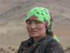 Mongolia - Arkhangai - Great White Lake / Terkhiin Tsagaan Nuur: Mongolian woman - photo by P.Artus