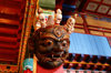 Tsetserleg, Arkhangai province, central Mongolia: inside a temple, Zayain Gegeenii Sum - Virupaksha, the King of the West - photo by A.Ferrari