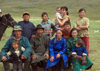 Mongolia - Uvs province: family photo - nomadic clan - photo by A.Summers