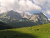 Montenegro - Crna Gora - Durmitor national park: mountain crests - photo by J.Kaman
