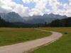Montenegro - Crna Gora - Durmitor national park: empty road - photo by J.Kaman