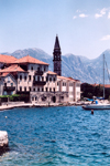 Montenegro - Crna Gora - Perast: houses by the sea - photo by M.Torres