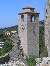 Montenegro - Crna Gora - Stari Bar: church ruins - photo by J.Kaman