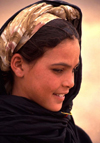 Morocco / Maroc - Merzouga: girl - photo by F.Rigaud
