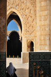 Casablanca, Morocco / Maroc: Hassan II Mosque - insight - photo by M.Torres