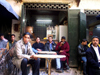 Morocco / Maroc - Fez: street cafe - photo by J.Kaman