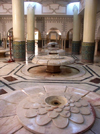 Morocco / Maroc - Casablanca: Hassan II mosque - lotus fountains - photo by J.Kaman