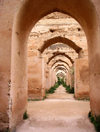 Morocco / Maroc - Meknes: Ismail's granaries - Heri es-Souani Heri - film location for 'The Last Temptation of Christ' by Martin Scorcese - photo by J.Kaman