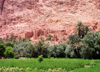 Morocco / Maroc - Todra: ruins on the slope - photo by J.Kaman