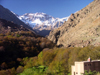 Morocco / Maroc - Jebel Toubkal / Jbel Toubkal - Toubkal National Park: snow on the Atlas mountains - photo by J.Kaman